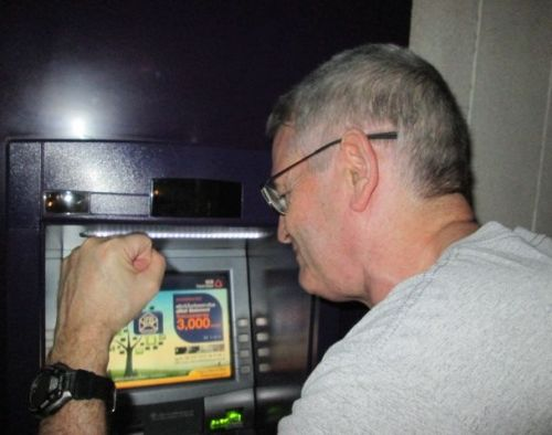 Hitting the ATM